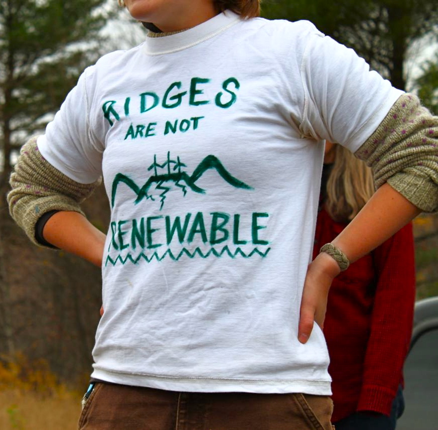 RIDGES ARE NOT RENEWABLE